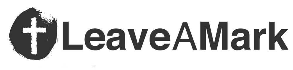 logo for LeaveAMark Church
