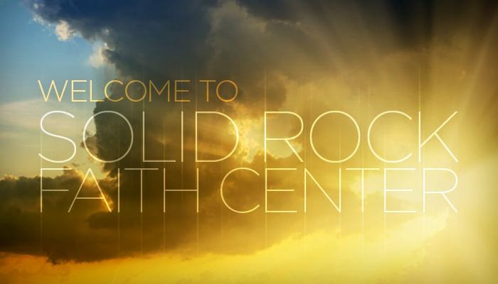logo for Solid Rock Faith Center