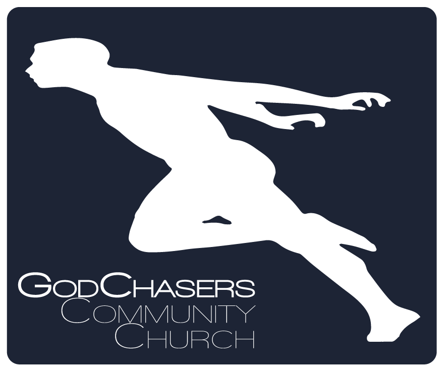 logo for GodChasers Community Church