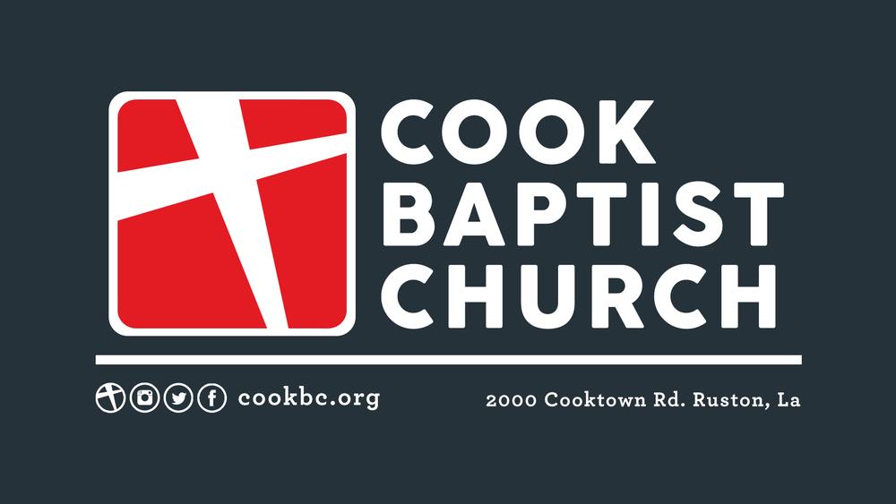 logo for Cook Baptist Church