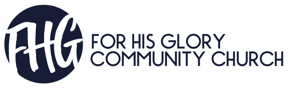 logo for For His Glory Community Church
