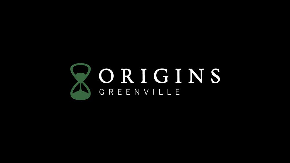 logo for Origins Greenville