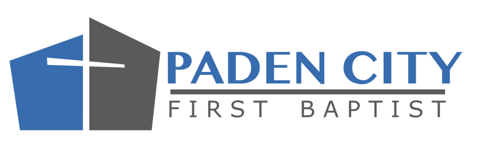 logo for First Baptist Church of Paden City