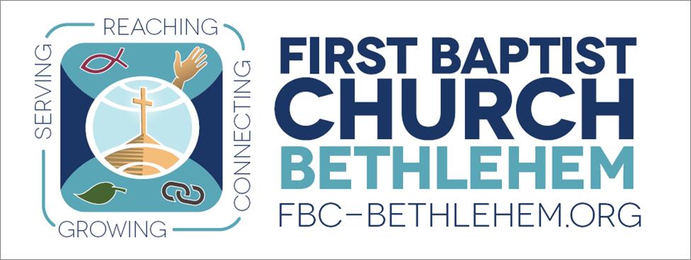 logo for First Baptist Church Bethlehem, PA