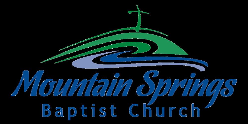 logo for Mountain Springs Baptist Church