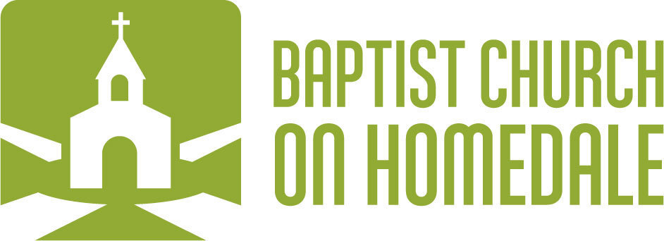 logo for Baptist Church on Homedale