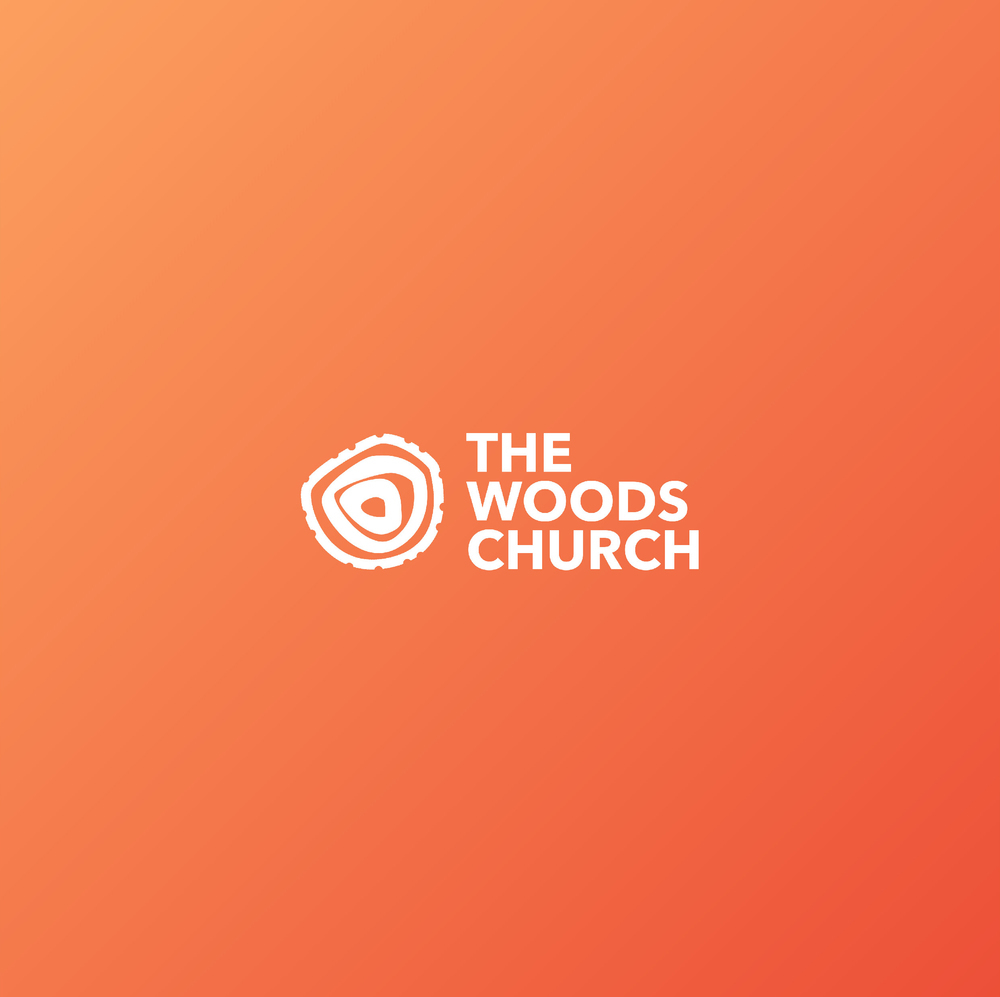 logo for The Woods Church