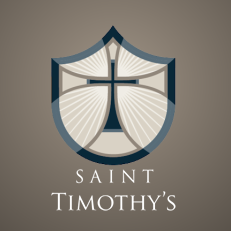 logo for St. Timothy's Church