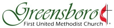 logo for Greensboro First United Methodist Church