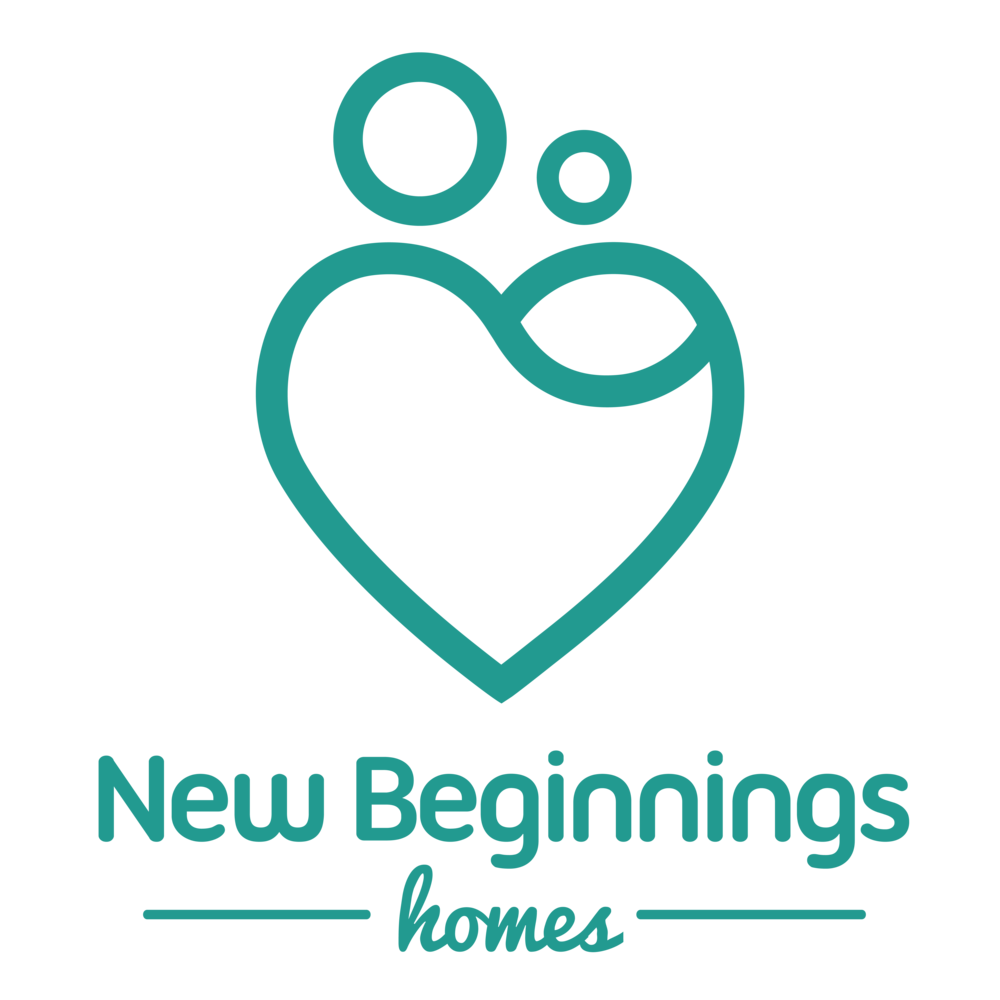 logo for New Beginnings Home