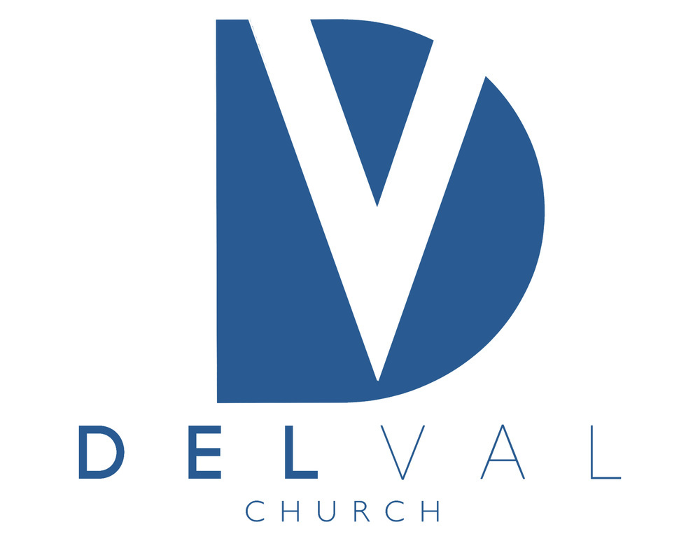 logo for DelVal Church