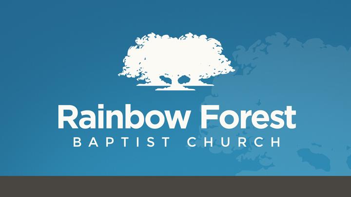 logo for Rainbow Forest Baptist Church