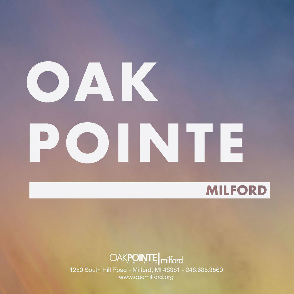 logo for Oak Pointe Church Milford