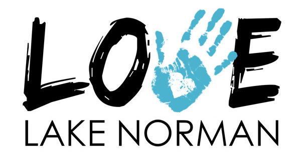 logo for Love Lake Norman