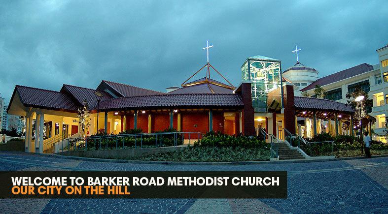 logo for Barker Road Methodist Church