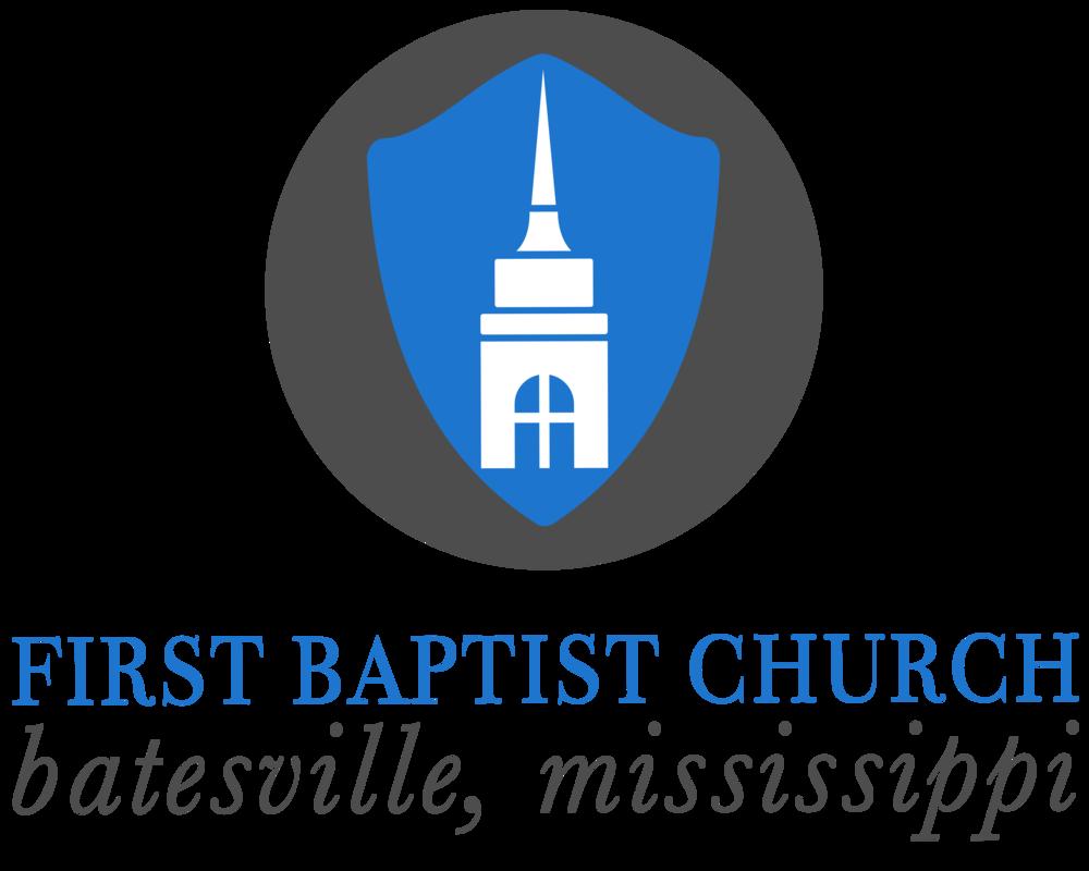 logo for First Baptist Church Batesville Mississippi