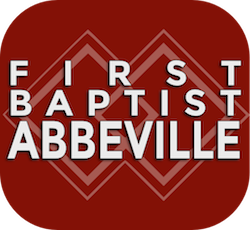 logo for First Baptist Church, Abbeville, AL