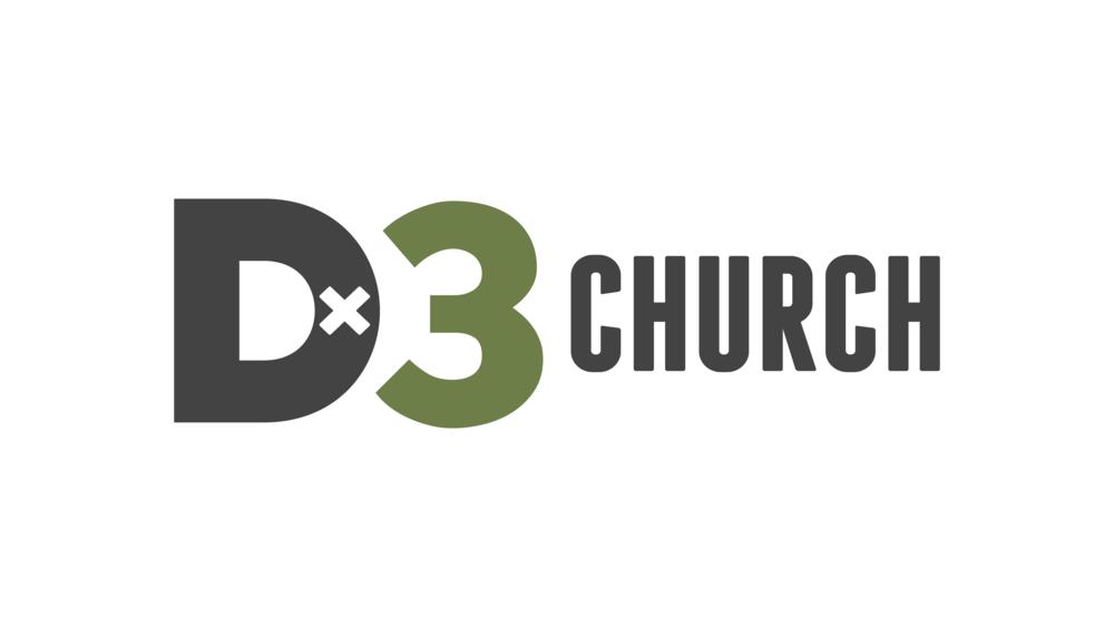 logo for D3 Church Utah