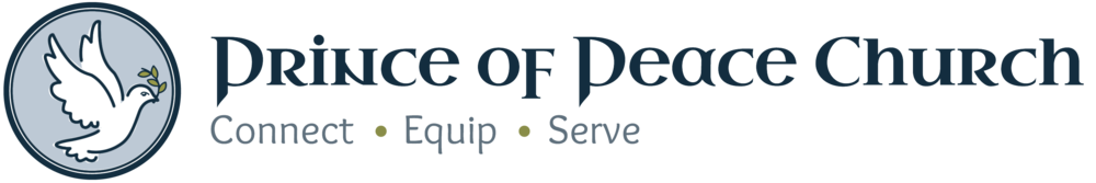 logo for Prince of Peace Church, Viera, FL