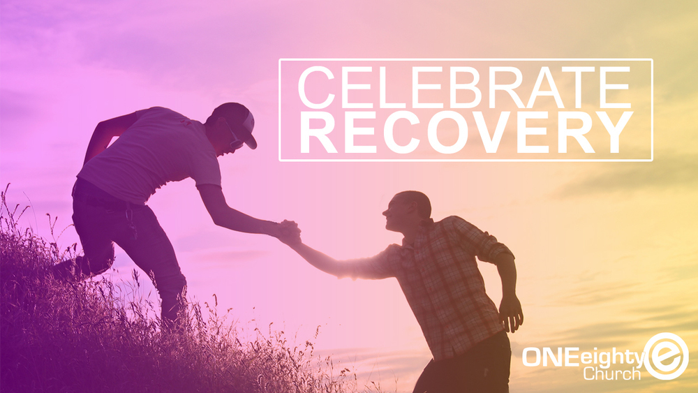 logo for ONEeighty Celebrate Recovery