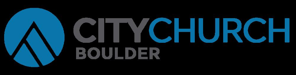logo for City Church Boulder