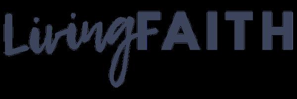 logo for Living Faith