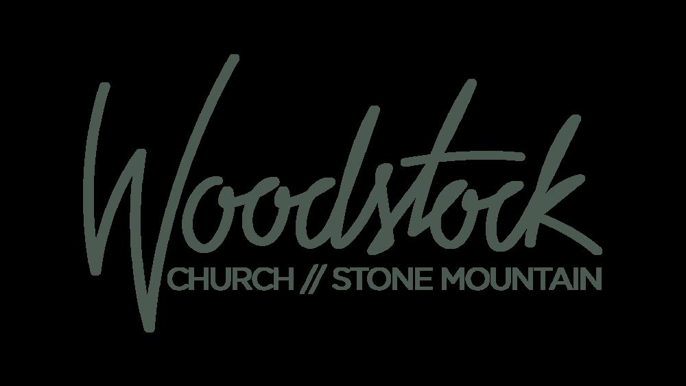 logo for Woodstock Church Stone Mountain