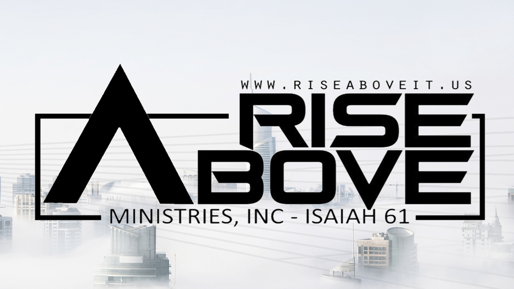 logo for Rise Above Ministries