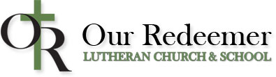 logo for Our Redeemer Lutheran Church