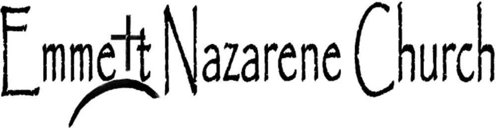 logo for Emmett Nazarene Church