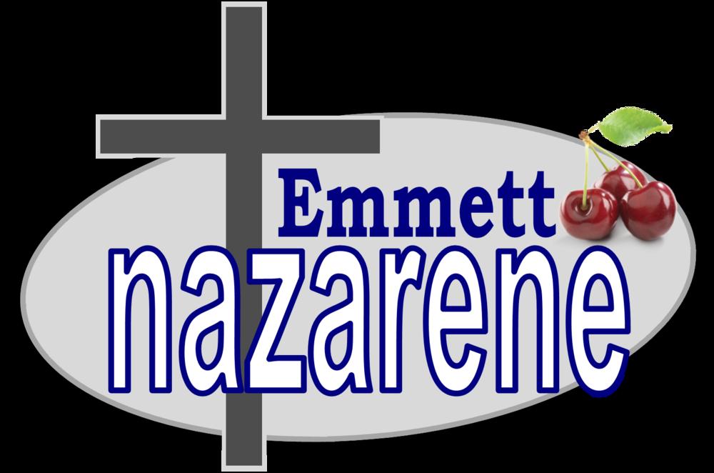 logo for Emmett Nazarene Church