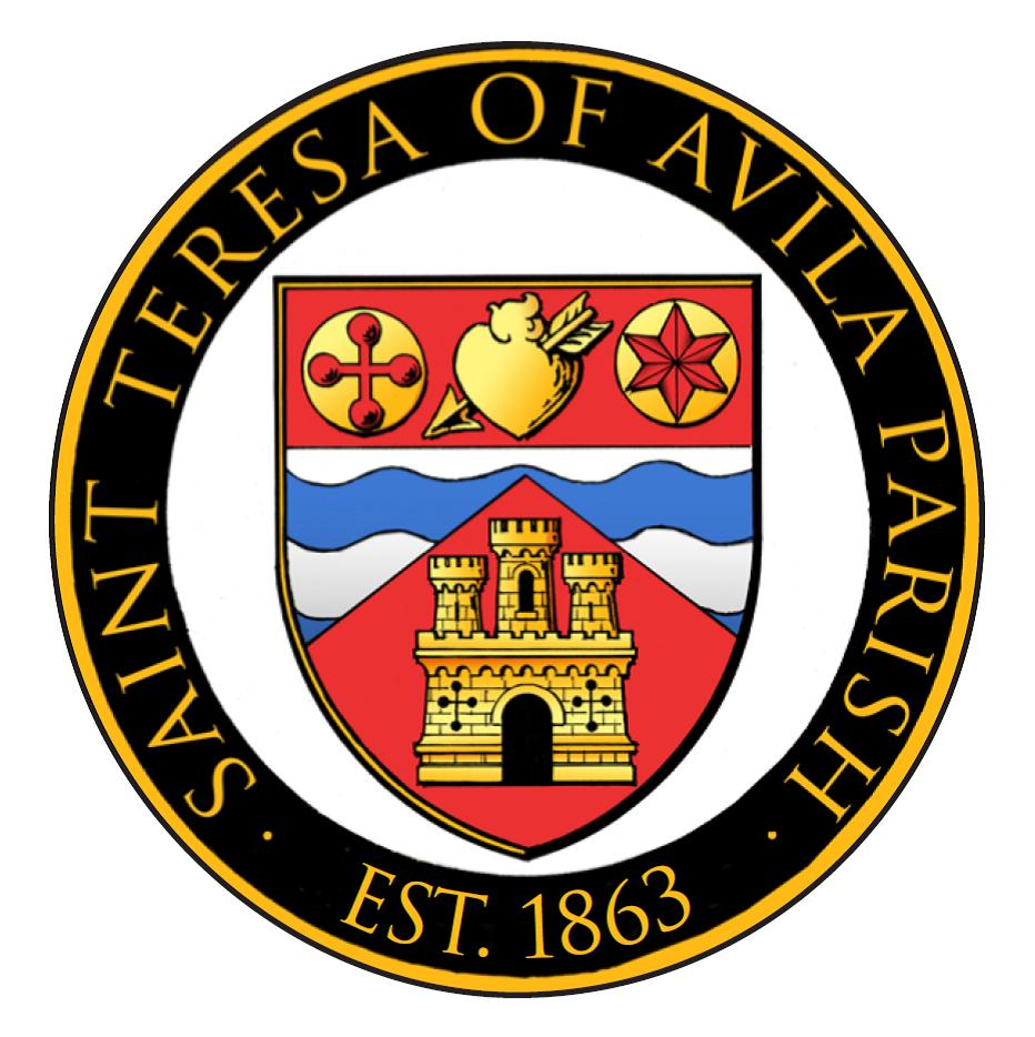 logo for St Teresa of Avila Church