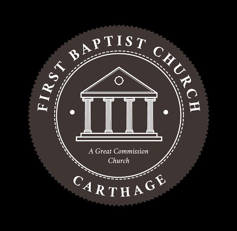 logo for First Baptist Church Carthage