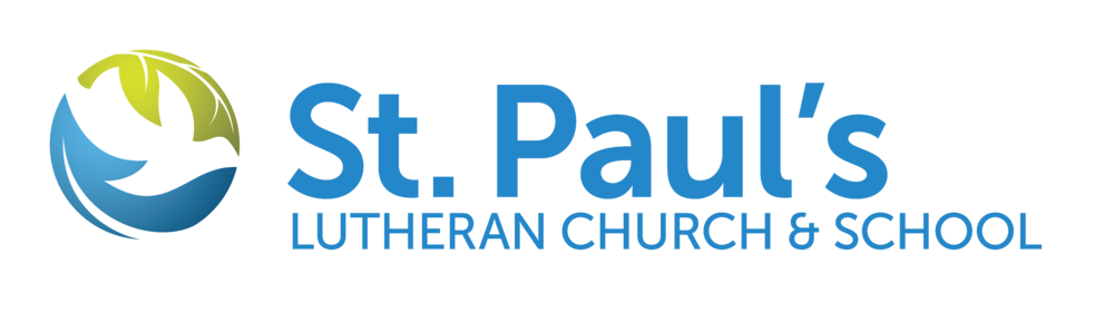 logo for St. Paul's Lutheran Church & School