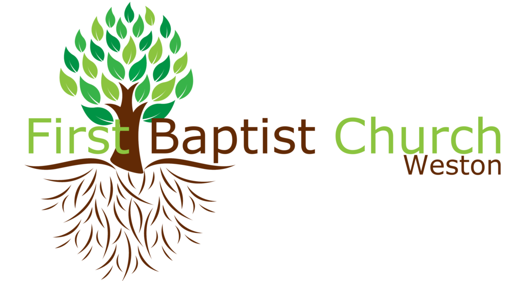 logo for First Baptist Church of Weston
