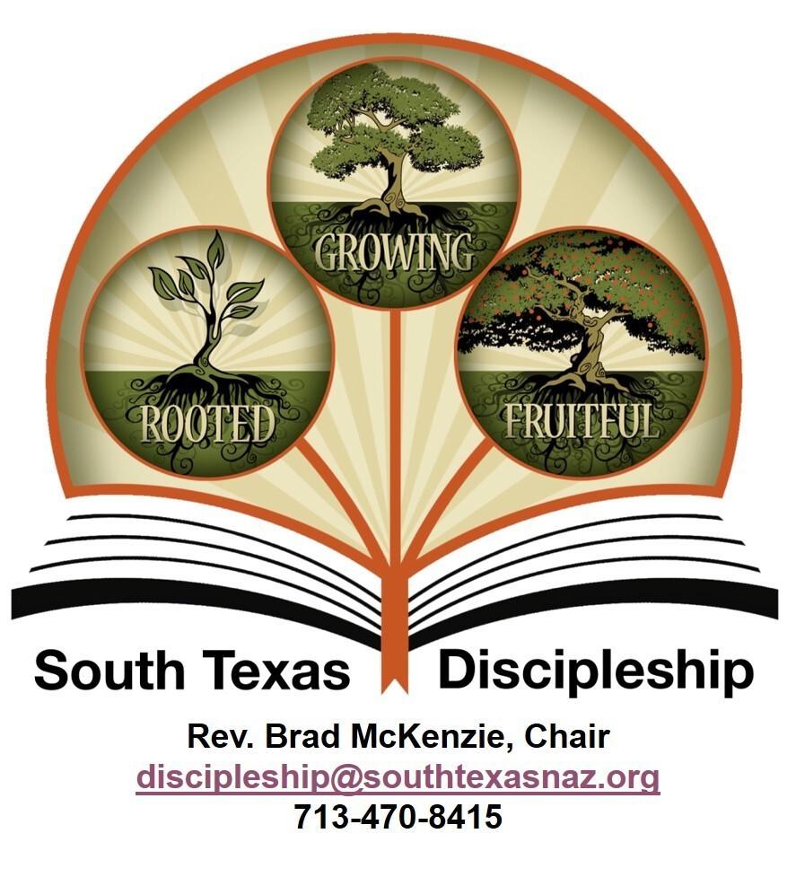 logo for South Texas Discipleship
