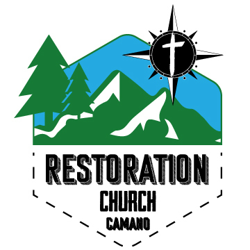 logo for Restoration Church Camano Island