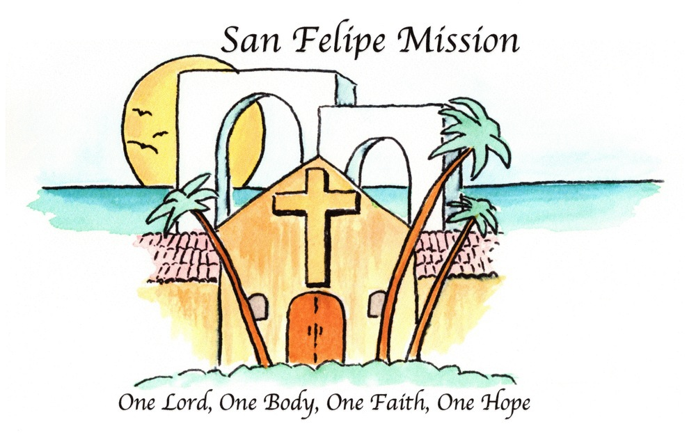 logo for San Felipe Mission