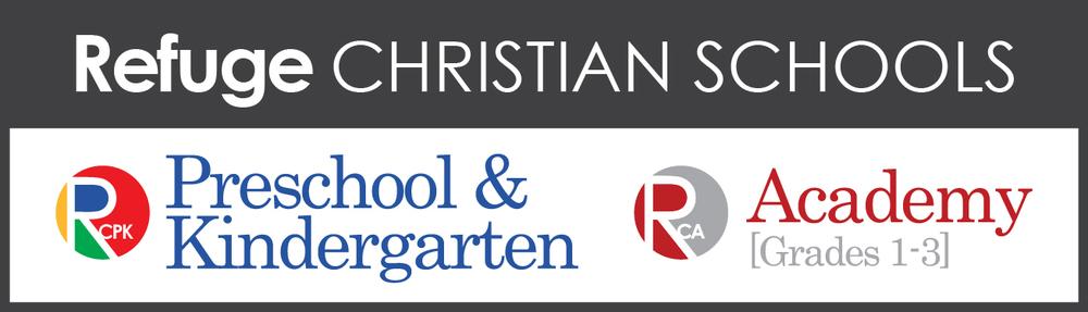logo for Refuge Christian Schools