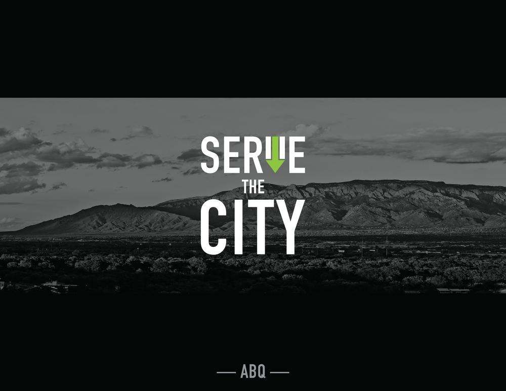 logo for Serve the City