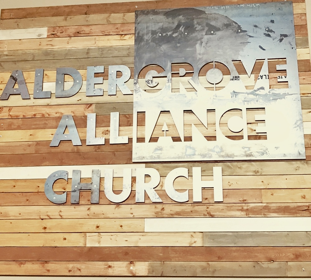 logo for Aldergrove Alliance Church