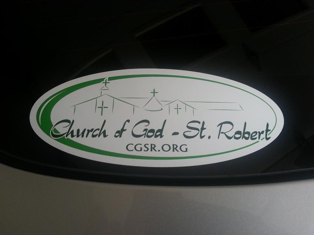 logo for Church of God St Robert