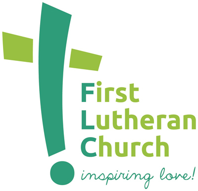 logo for First Lutheran Church