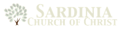 logo for Sardinia Church of Christ