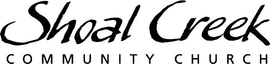 logo for Shoal Creek Community Church