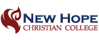 logo for New Hope Christian College