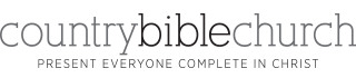 logo for Country Bible Church