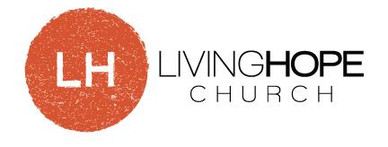 logo for Living Hope Church