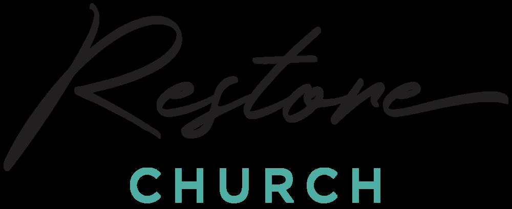 logo for Restore Church