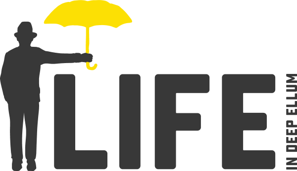 logo for Life in Deep Ellum